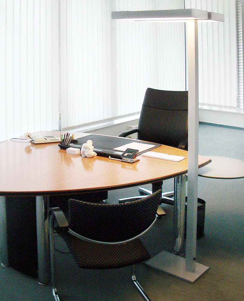 Example for workplace lighting
